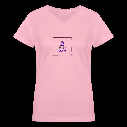 35DD Gal - Women's V-Neck T-Shirt