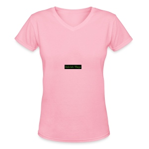 coollogo_com-4632896 - Women's V-Neck T-Shirt