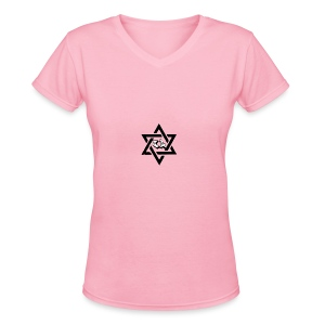 Pllan Logo - Women's V-Neck T-Shirt