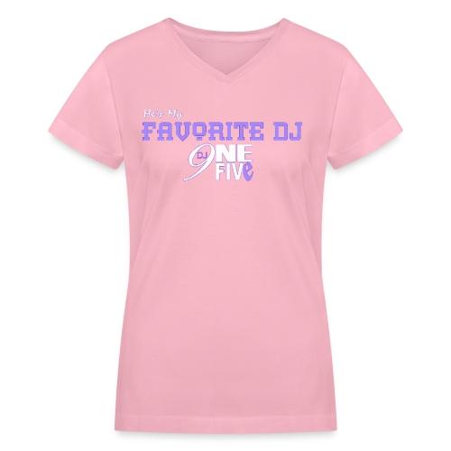Mahogany 2 - Women's V-Neck T-Shirt