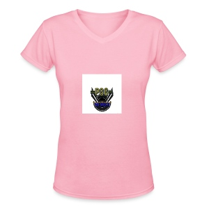 mystic_member_avatar - Women's V-Neck T-Shirt