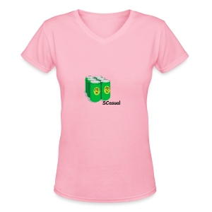 SCasual - Women's V-Neck T-Shirt