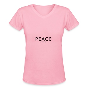 Original Intention - Women's V-Neck T-Shirt