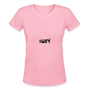 My awesome clothes - Women's V-Neck T-Shirt