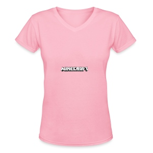 Mincraft MERCH - Women's V-Neck T-Shirt