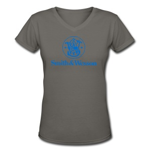 Smith & Wesson (S&W) - Women's V-Neck T-Shirt