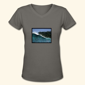 Duck Dive - Women's V-Neck T-Shirt