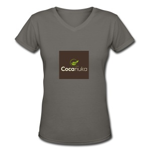 Cocanuka - Women's V-Neck T-Shirt