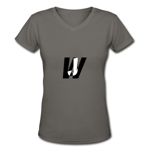 Jack Wide wear - Women's V-Neck T-Shirt