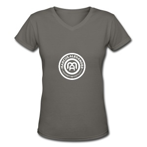 Marcus Alexander Official Logo - Women's V-Neck T-Shirt