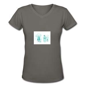 TEST DESIGN - Women's V-Neck T-Shirt