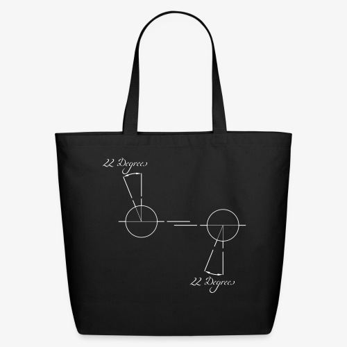 22 degrees of CX500 - no model shown - Eco-Friendly Cotton Tote
