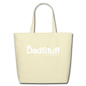 Dadstuff Full Horizontal - Eco-Friendly Cotton Tote