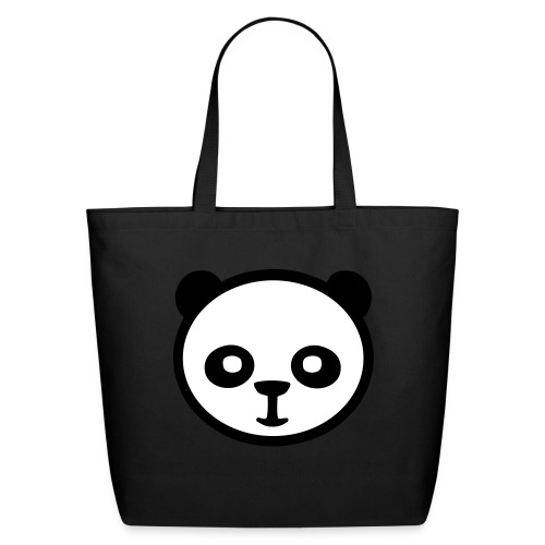 Panda bear, Big panda, Giant panda, Bamboo bear - Eco-Friendly Cotton Tote