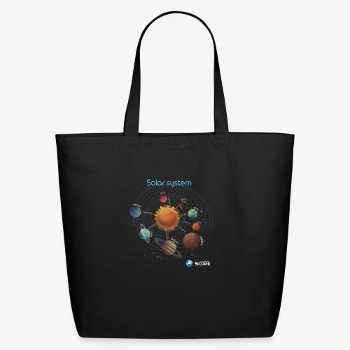 Solar System Scope : Solar System - Eco-Friendly Cotton Tote