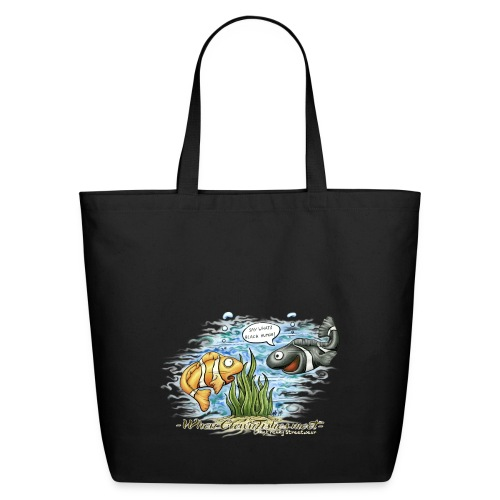 when clownfishes meet - Eco-Friendly Cotton Tote