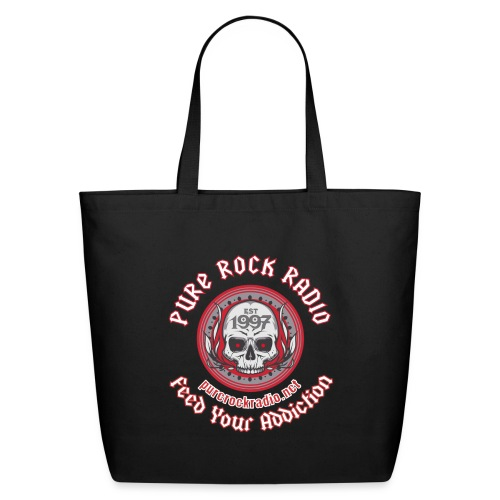 PRR Molenoise Skull (Front) + Circle Logo (Back) - Eco-Friendly Cotton Tote