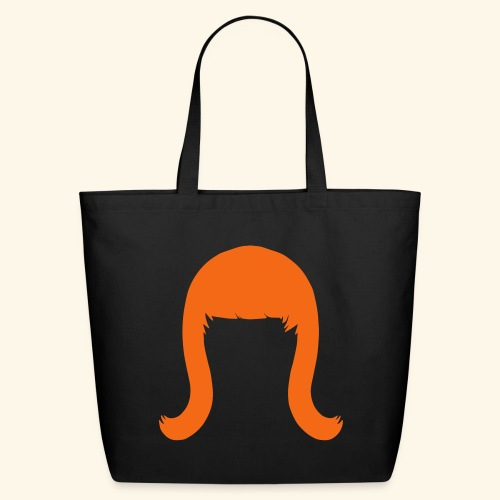 Miss Coco Peru Wig Logo - Eco-Friendly Cotton Tote