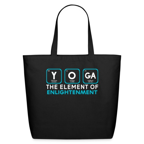 Yoga the Element of Enlightenment - Eco-Friendly Cotton Tote