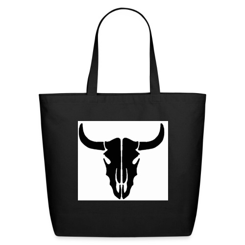 Longhorn skull - Eco-Friendly Cotton Tote
