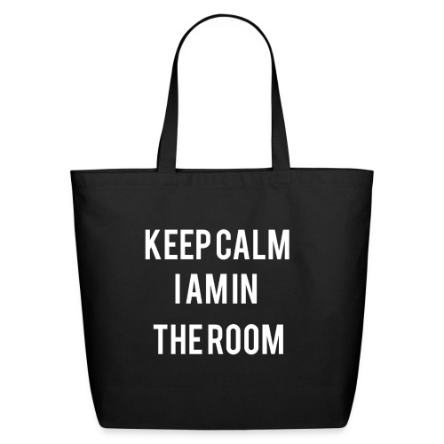 I'm here keep calm - Eco-Friendly Cotton Tote