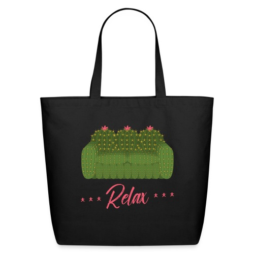 Relax! - Eco-Friendly Cotton Tote