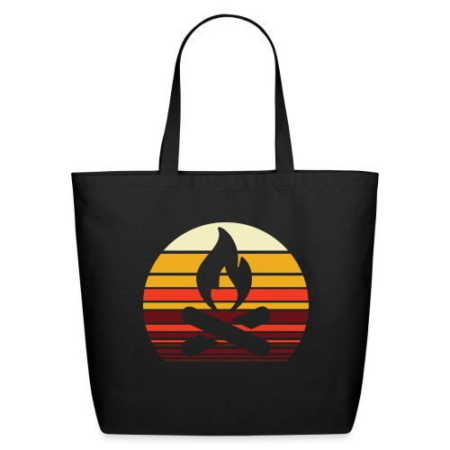 Campfire Sunset - Eco-Friendly Cotton Tote