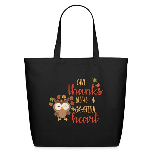 Give Thanks - Eco-Friendly Cotton Tote