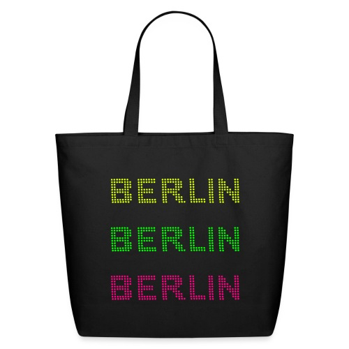 Berlin dots-font - Eco-Friendly Cotton Tote