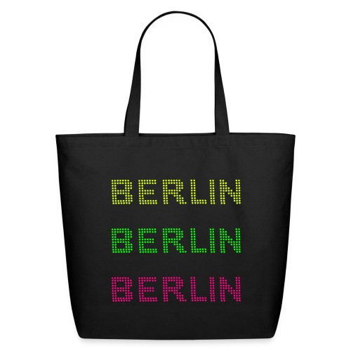 Berlin dots-font - Eco-Friendly Cotton Tote