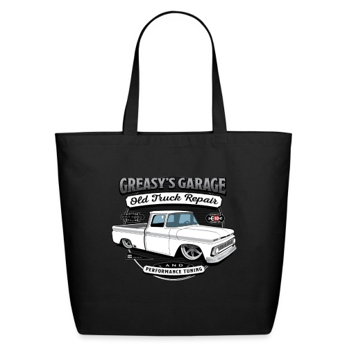 Greasy's Garage Old Truck Repair - Eco-Friendly Cotton Tote