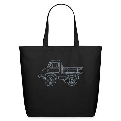 Off-road truck, transporter - Eco-Friendly Cotton Tote