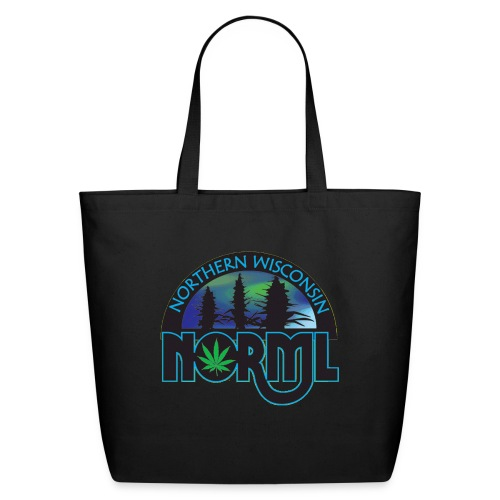 Northern Wisconsin NORML Official Logo - Eco-Friendly Cotton Tote