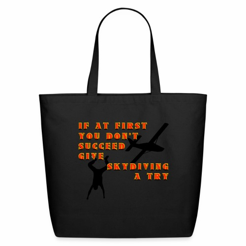Try Skydiving - Eco-Friendly Cotton Tote