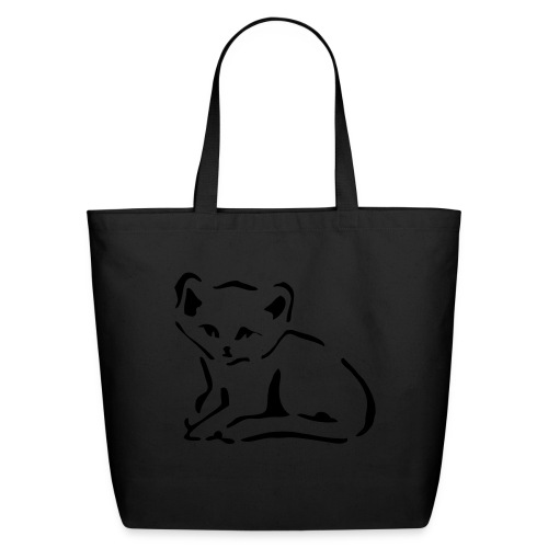 Kitty Cat - Eco-Friendly Cotton Tote