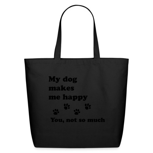 love dog 2 - Eco-Friendly Cotton Tote