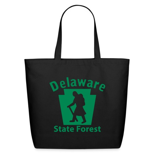 Delaware State Forest Keystone Hiker female - Eco-Friendly Cotton Tote