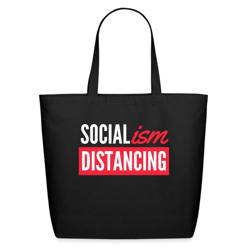 SOCIALism DISTANCING - Eco-Friendly Cotton Tote
