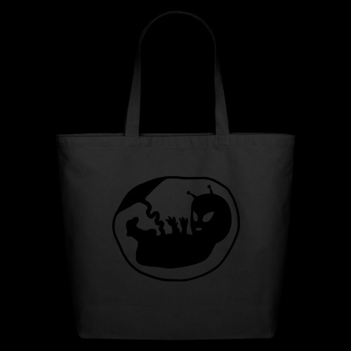 Alien Fetus by bmx3r - Eco-Friendly Cotton Tote