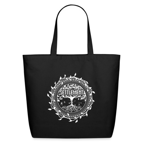 Band Seal (White) | The Settlement - Eco-Friendly Cotton Tote