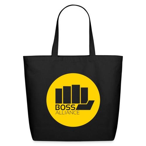 BOSS Logo - Transparent Fist - Transparent Text - Eco-Friendly Cotton Tote