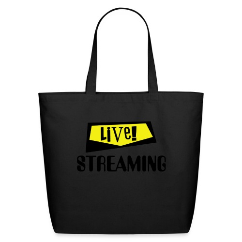 Live Streaming - Eco-Friendly Cotton Tote