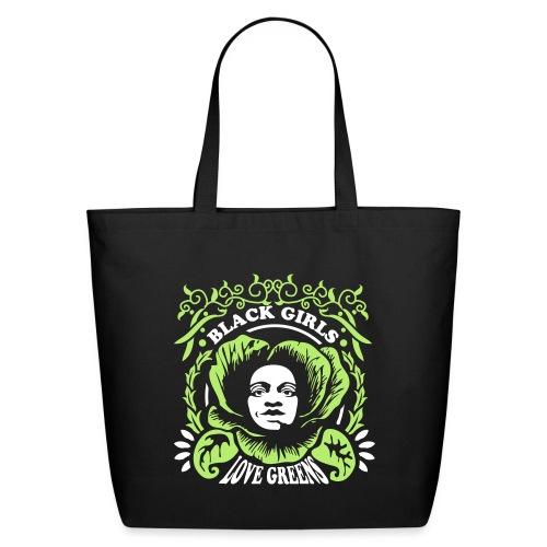Black Girls Love Greens Women's Standard T-Shirt - Eco-Friendly Cotton Tote