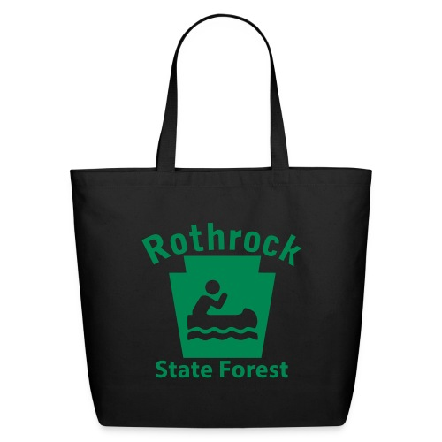 Rothrock State Forest Boating Keystone PA - Eco-Friendly Cotton Tote
