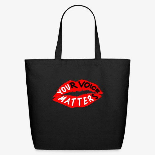 Your Voice Matters - Eco-Friendly Cotton Tote