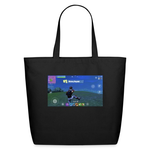 My First Win! - Eco-Friendly Cotton Tote