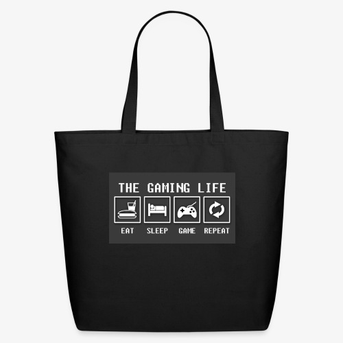 Gaming is life - Eco-Friendly Cotton Tote