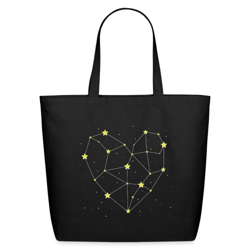 Heart in the Stars - Eco-Friendly Cotton Tote