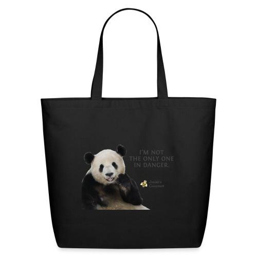 Endangered Pandas - Josiah's Covenant - Eco-Friendly Cotton Tote