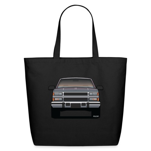Design Icon: American Bowtie Silver Urban Truck - Eco-Friendly Cotton Tote